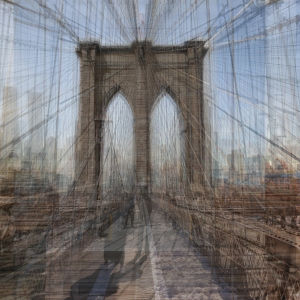 Brooklyn Bridge by Robert Dickes