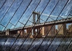 Manhattan Bridge - by Abe Morell