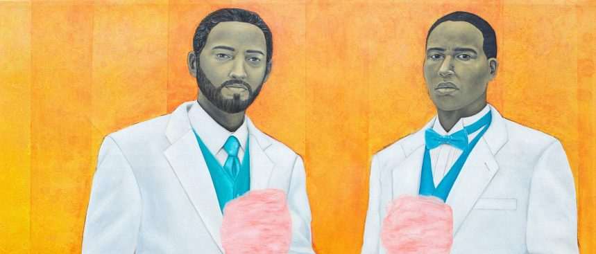 High Yella Masterpiece: We Ain't No Cotton Pickin' Negroes - by Amy Sherald, 2011